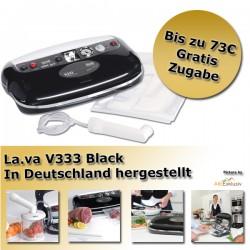 LaVa V.333® Black Folienschweißgerät Vakuumgerät Vakuumiergerät Vakuumierer
