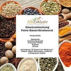 Gewürzmischung Feine Bauern-Bratwurst ausreichend für 6.4 Kilo Wurst