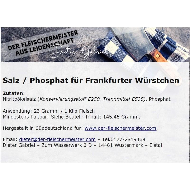 Gewürzmischung Frankfurter Würstchen vom Fleischermeister aus Leidenschaft
