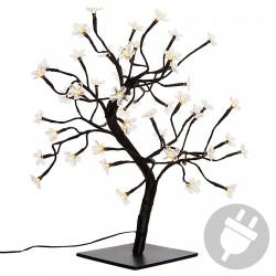 48er LED Baum mit Blüten Lichterbaum Blütenbaum warm weiß...