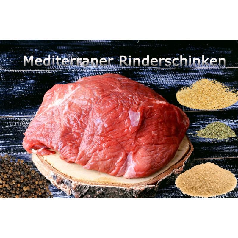 Pökelmischung Mediterraner Rinderschinken für 4 Kilo Fleisch Deutsche Handarbeit