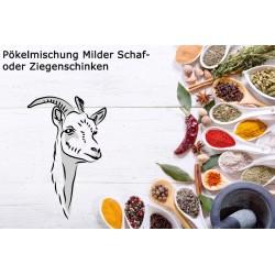 Pökelmischung Milder Schaf/Ziegeschinken für 4 Kilo Fleisch. Deutsche Handarbeit