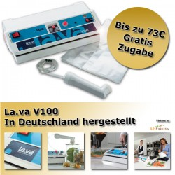 LaVa V.100® Folienschweißgerät Vakuumgerät Vakuumiergerät Vakuumierer Aktion
