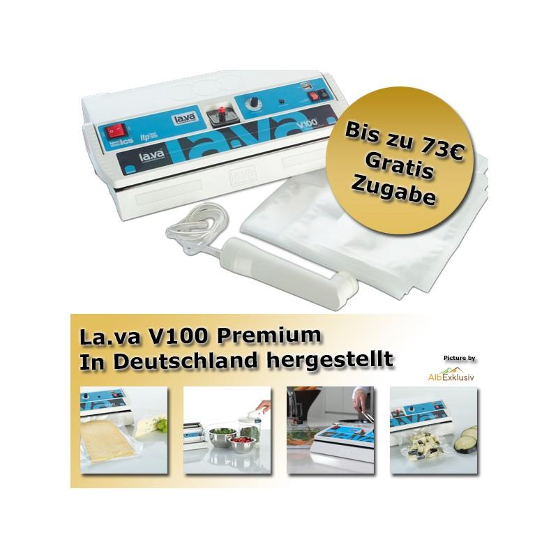 LaVa V.100® Premium Folienschweißgerät Vakuumgerät Vakuumiergerät Vakuumierer