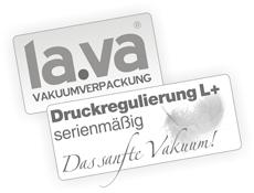 Druckempfindliche Produkte vakuumieren